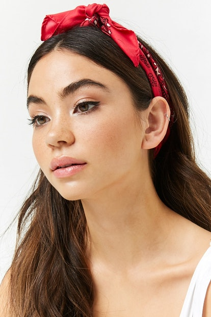 Ornate Floral Headwrap