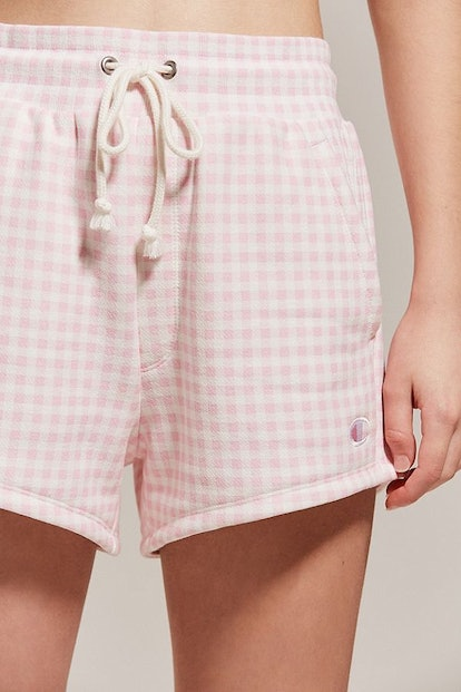 Champion + HVN for Urban Outfitters Gingham Track Short