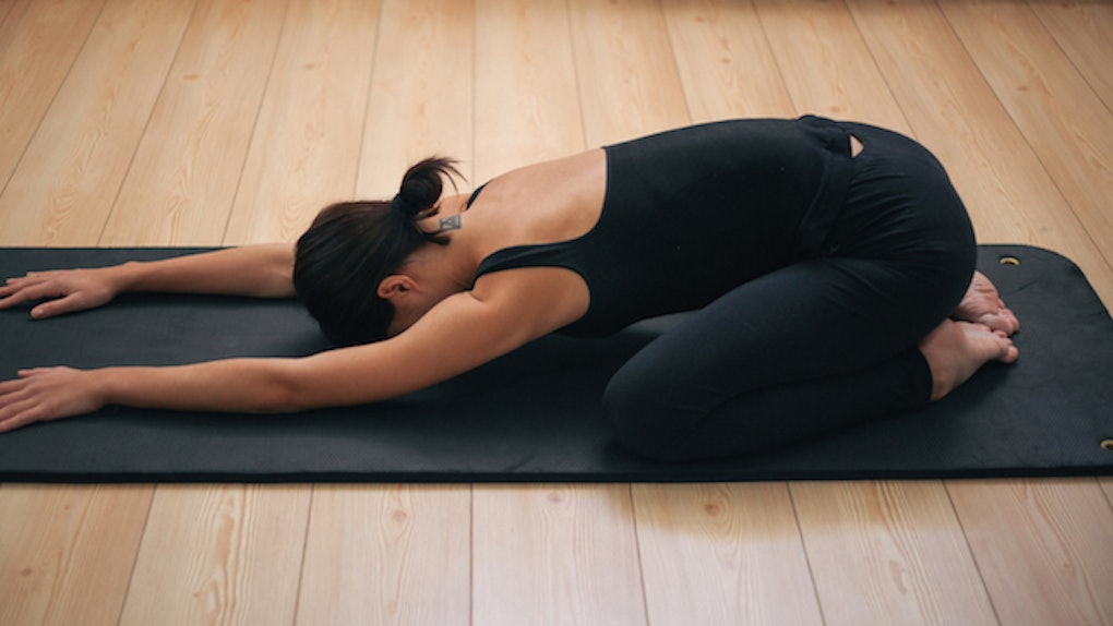 7 Yoga Poses For Headaches When Advil Just Isn T Enough For The Pain