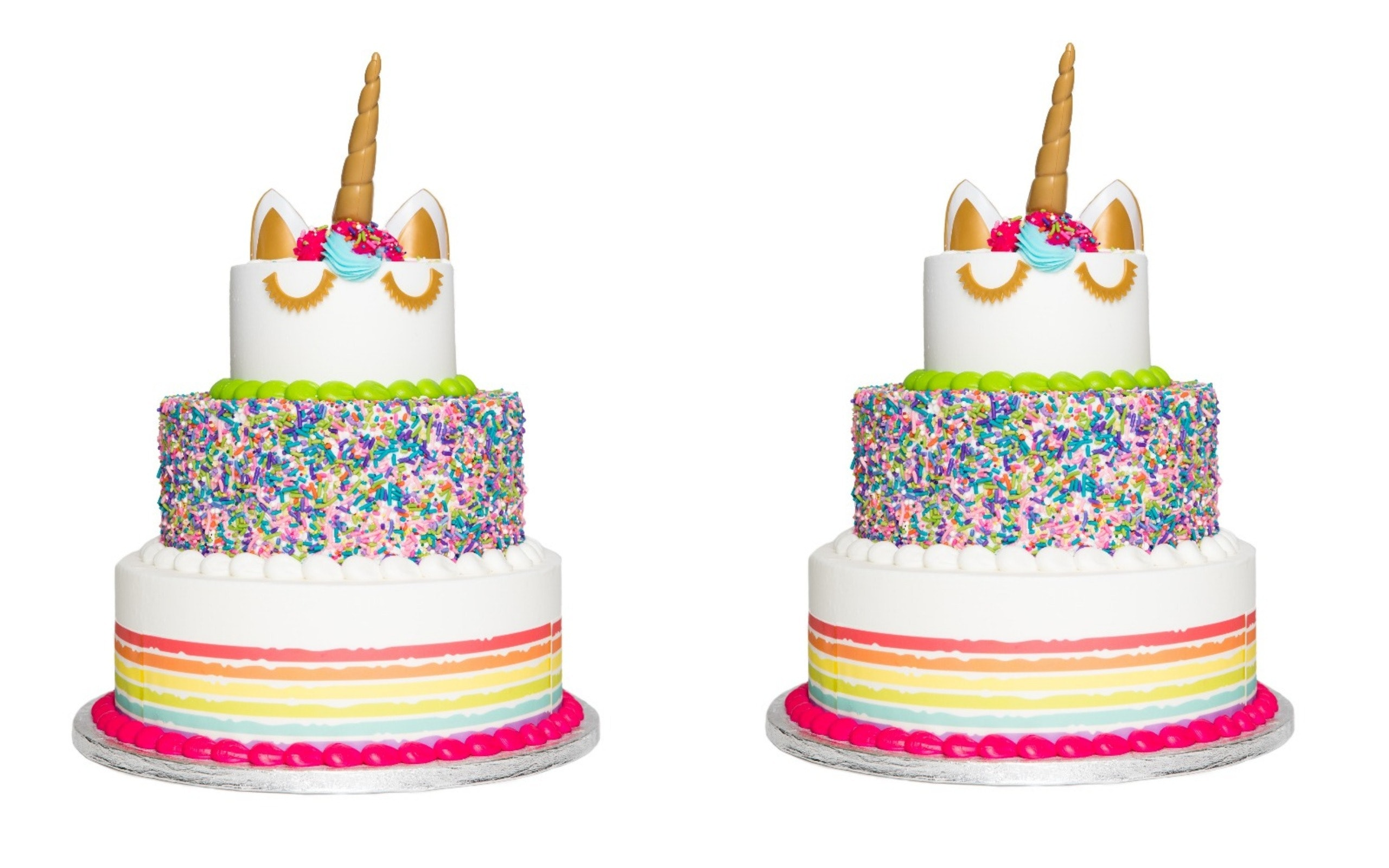 Phenomenal This 3 Tier Unicorn Cake At Sams Club Costs Less Than 70 Feeds Personalised Birthday Cards Paralily Jamesorg