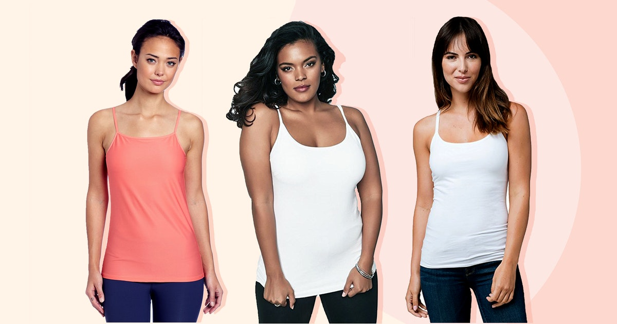 3658cc8ed7d018 The 7 Best Camisoles With Built-In Bras