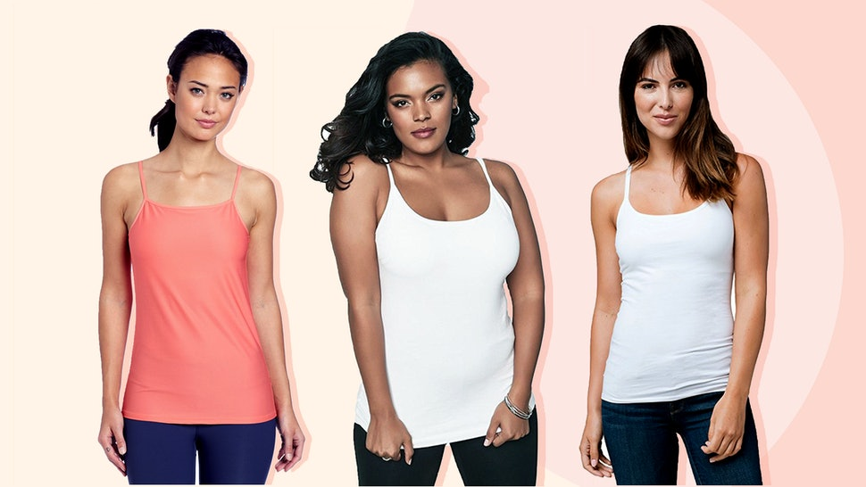 b5cfbe29c1b60a The 7 Best Camisoles With Built-In Bras