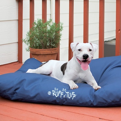 K&H Pet Products K-9 Ruff n' Tuff Chew-Resistant Pet Bed