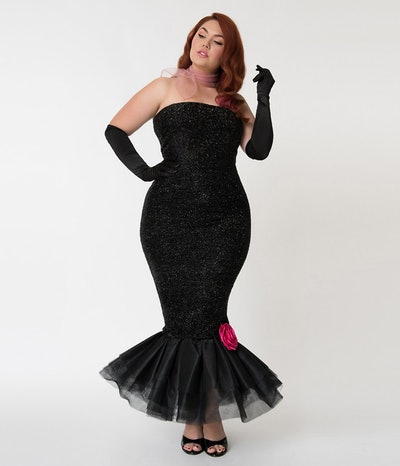 Solo In The Spotlight Strapless Wiggle Dress