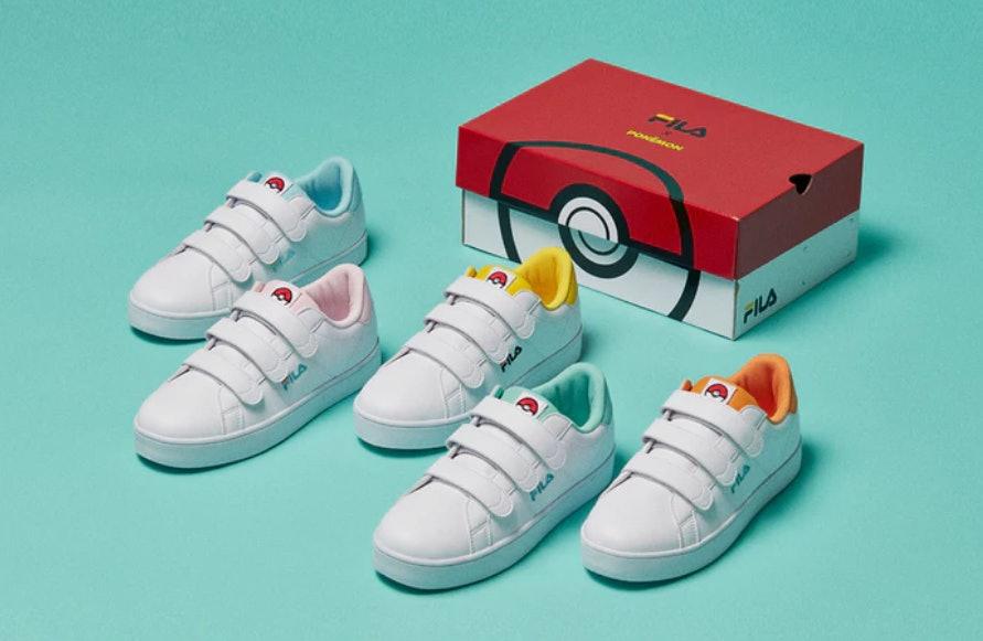 The FILA x Pokémon Sneaker Line Is Here