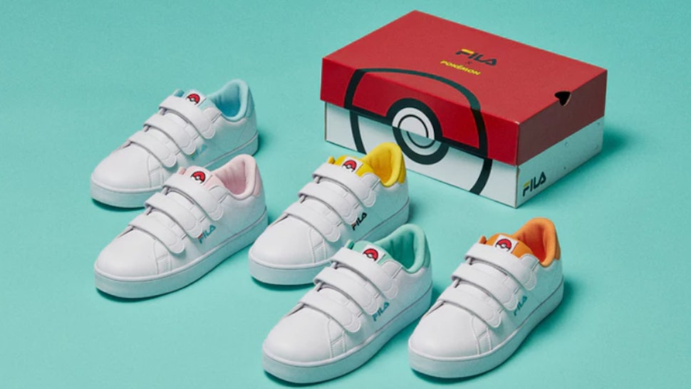 d0fecf8b1c31 The FILA x Pokémon Sneaker Line Is Here   You ll Want To Catch Them All