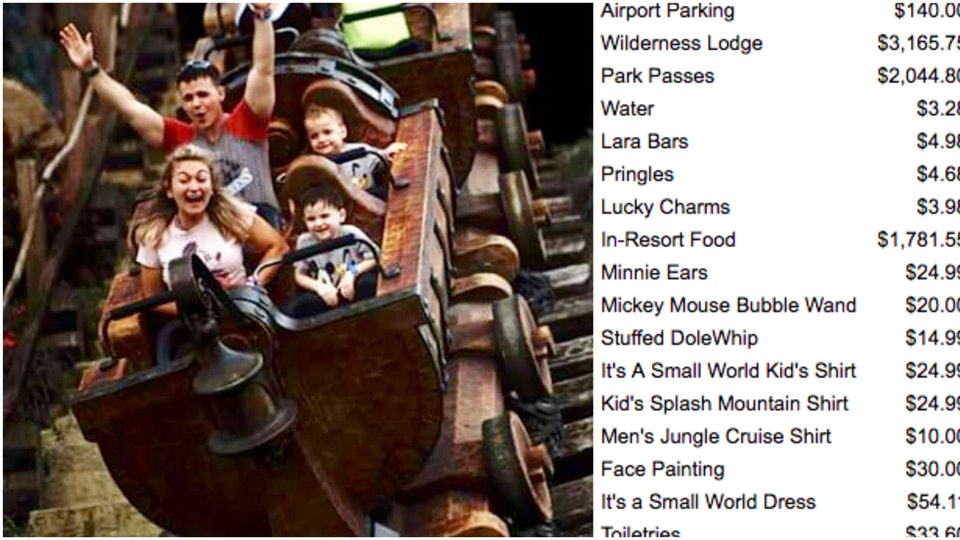 faf042f7 How Much A Disney World Trip Really Costs For A Family Of Four