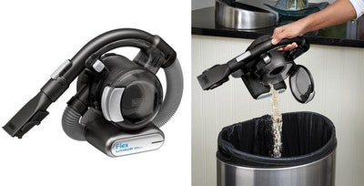 Black & Decker Lithium Flex Vacuum With Pet Hair Brush