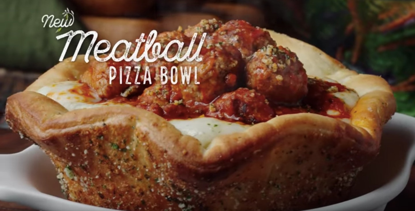 When Can You Order Olive Garden\'s Meatball Pizza Bowl? It\'s Only ...