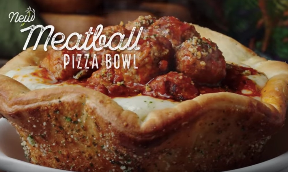Olive Garden Has A Crazy New Breadstick Creation: When Can You Order Olive Garden's Meatball Pizza Bowl? It