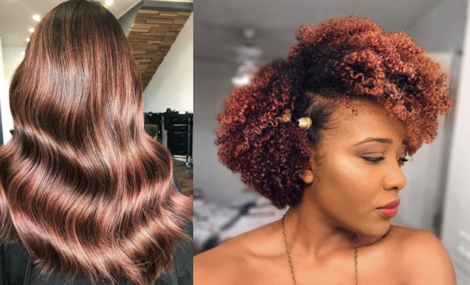 Photos Of Rose Brown Hair Color Will Get You Into The Garden State