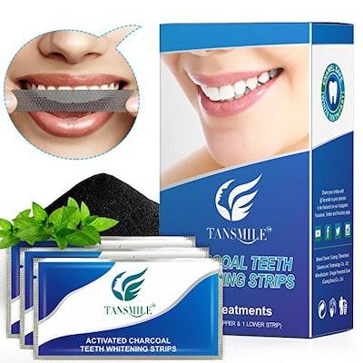 Tansmile Charcoal Teeth Whitening Strips