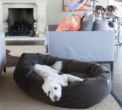 Majestic Pet, Suede Dog Bed