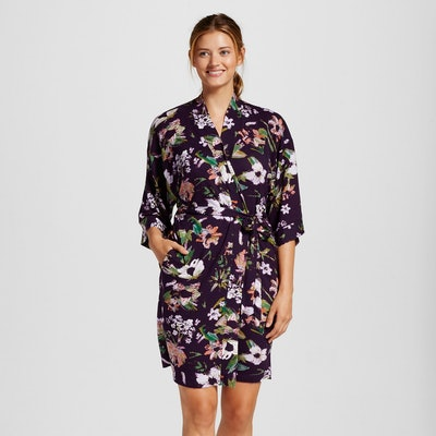 Gilligan & O'Malley Women's Pajama Total Comfort Kimono Wrap Robe