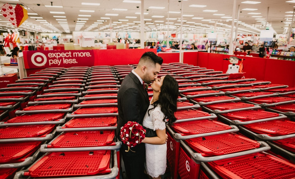 This Couple\'s Target Wedding Photos Are Everything I Never Knew I Needed