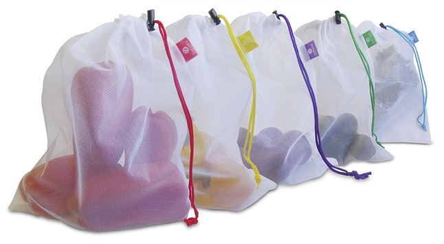 These Eco-Friendly Drawstring Bags For Storing Produce 7e48b1a97f608