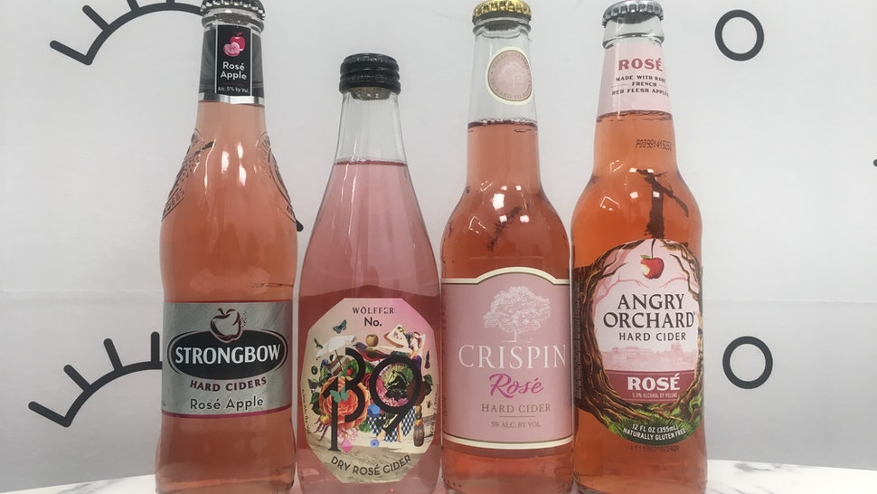 what does hard cider rose taste like i tried 4 different varieties here 39 s how they stacked up. Black Bedroom Furniture Sets. Home Design Ideas
