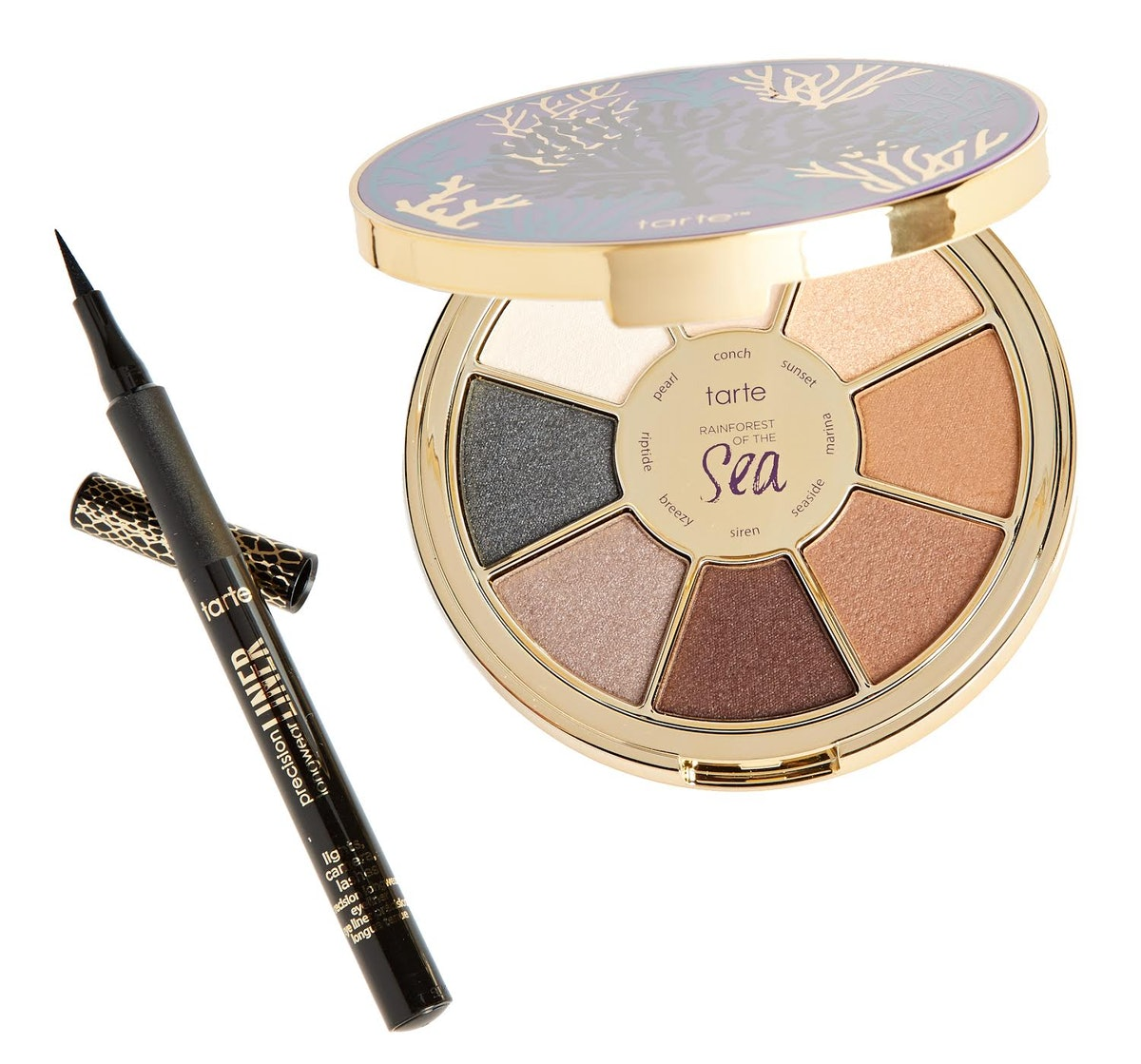 tarte ROS Eyeshadow Palette V2 and LCL Liner 2-piece Set
