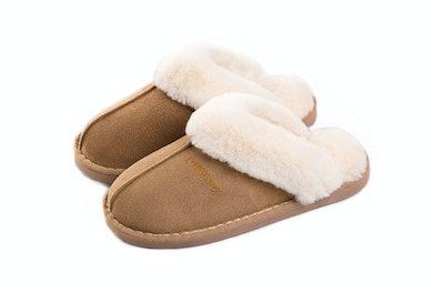SOSUSHOE Fluffy Fur Slip On Slippers
