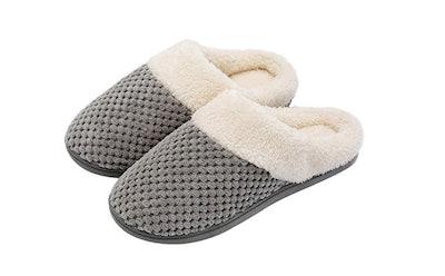 Ultaideas Slip On Memory Foam Clog Slippers