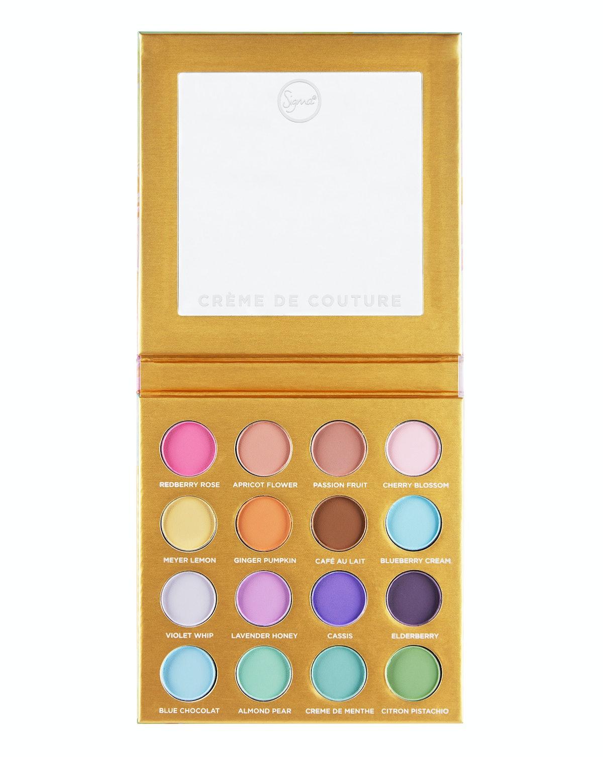 Creme de Couture Pressed Color Palette, Sigma