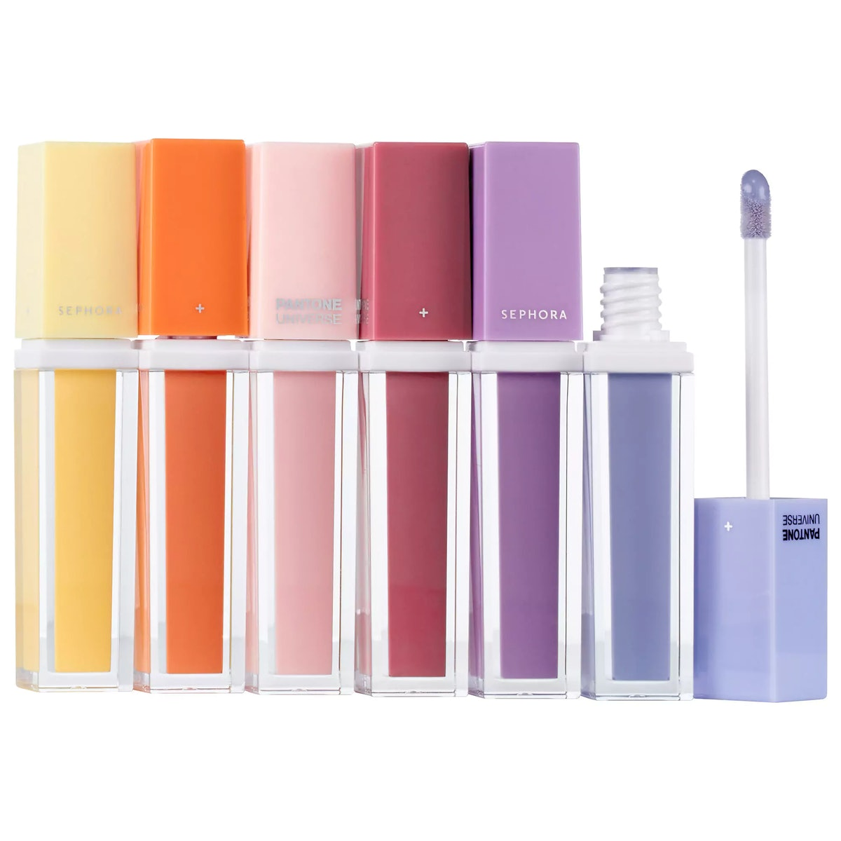 SEPHORA+PANTONE UNIVERSE Modern Watercolors Lip Gloss Set