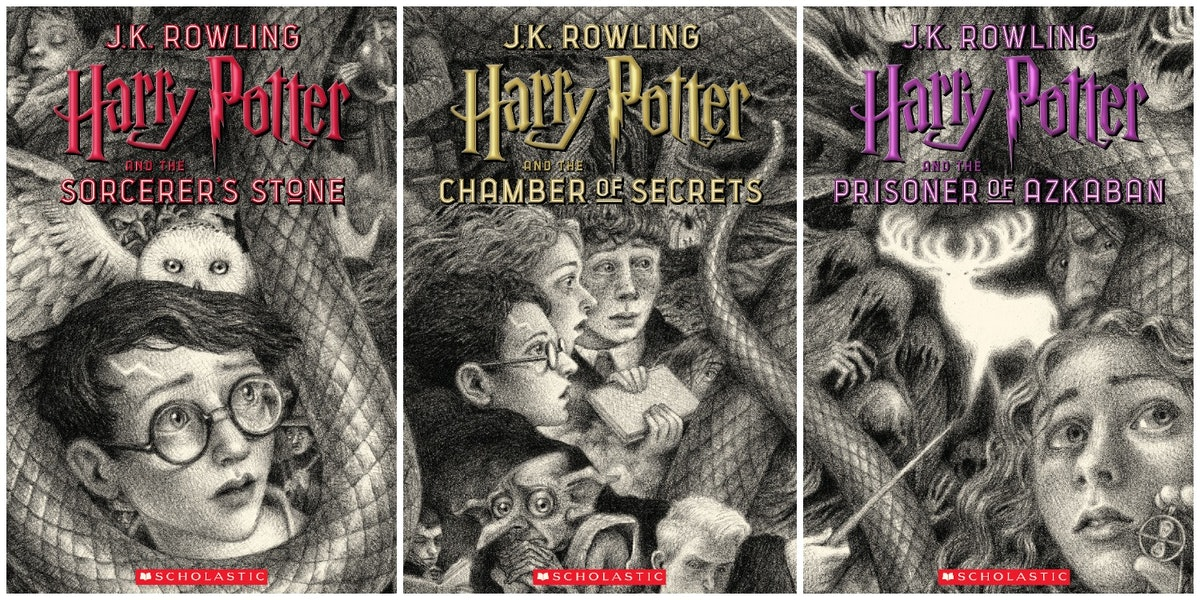 Harry Potter S 20th Anniversary Covers By Brian Selznick