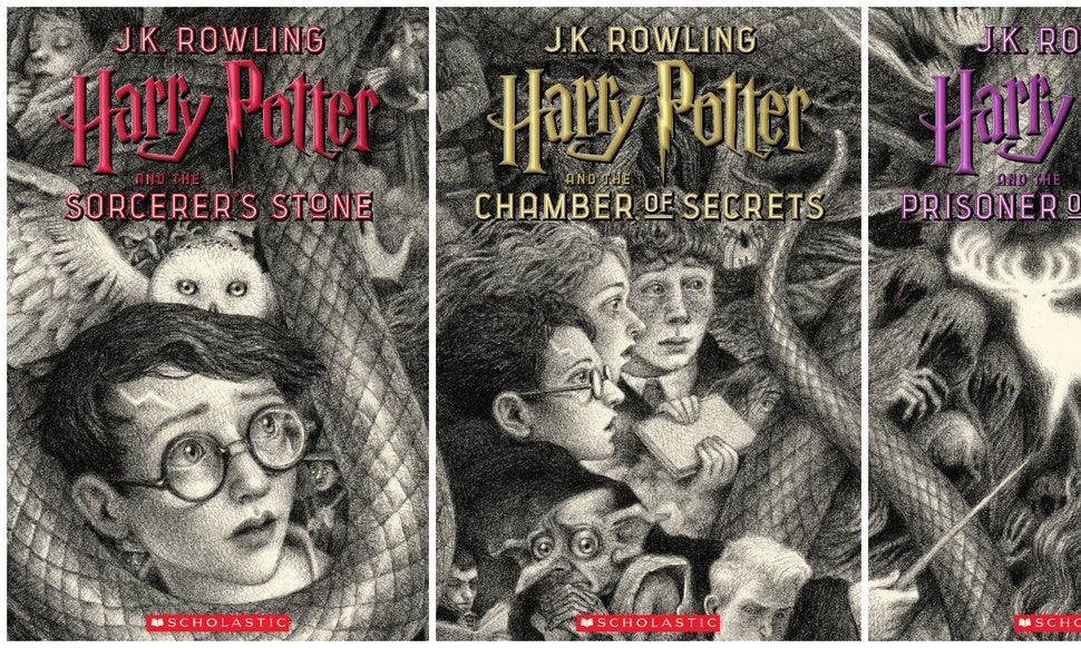 Harry Potter Book Cover Maker : Harry potter s th anniversary covers by brian selznick