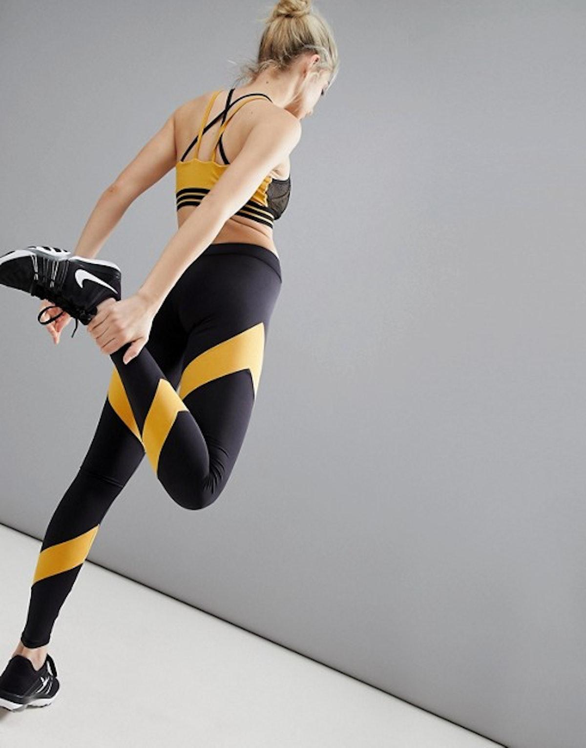 South Beach Stripe Panel Legging