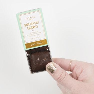 Chocolate Sea Salt Caramels