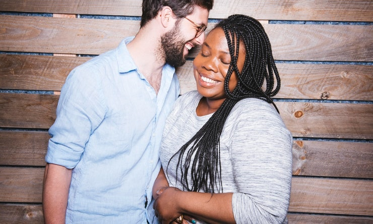 Couple meets for the first time after dating long distance for 5 years