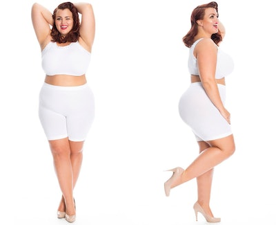 All Woman Plus Size Anti Chafing Shorts