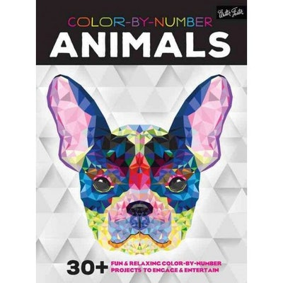 Color-by-Number Animals: 30+ Fun & Relaxing Color-by-Number Projects to Engage & Entertain (Paperback)