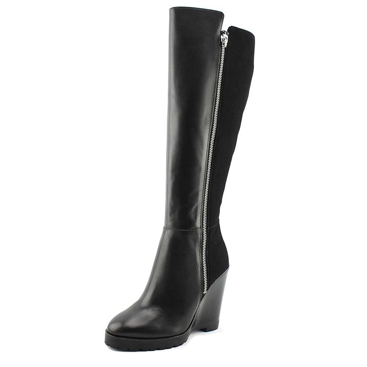 Michael Kors Clara Leather Boots