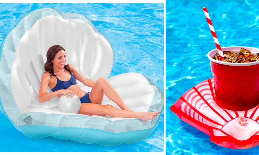 6 Seashell Pool Floats For One Shell Of A Good Time At