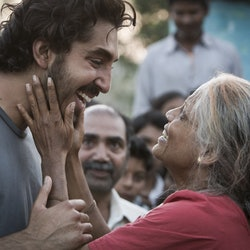 A scene from Lion, a movie based on a true story.