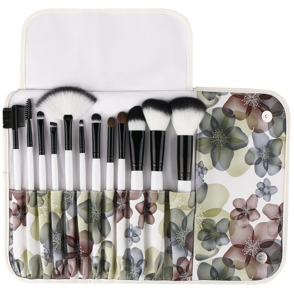 UNIMEIX 12-Piece Premium Makeup Brush Set