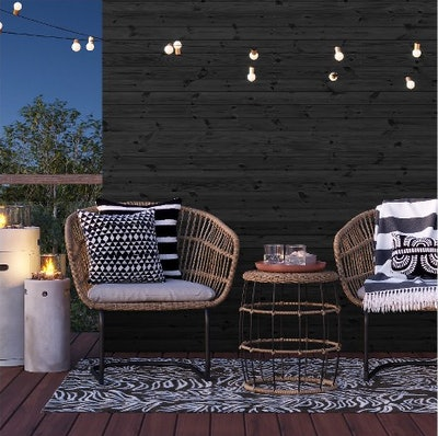 Southport 3pc Wicker Motion Patio Chat Set
