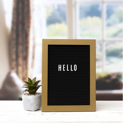 Letter Board With Letters