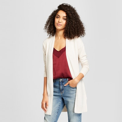 A New Day Women's Belted Open Cardigan