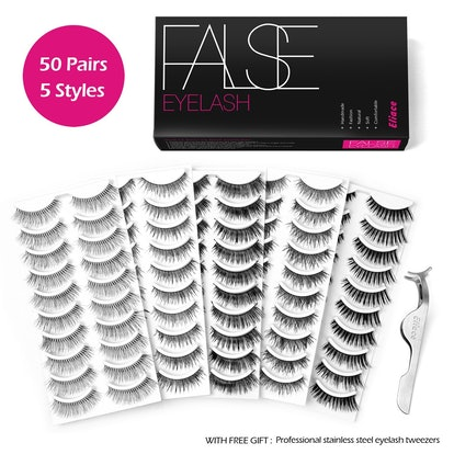 Eliace Fake Eyelashes Pack