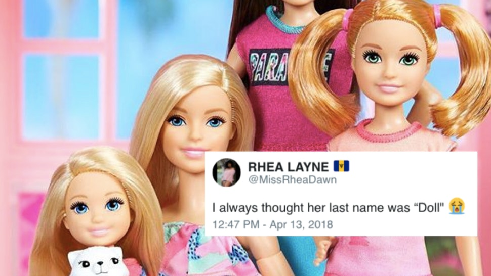 What Is Barbie's Last Name? Mattel Just Revealed It & Twitter Is Having A Field Day