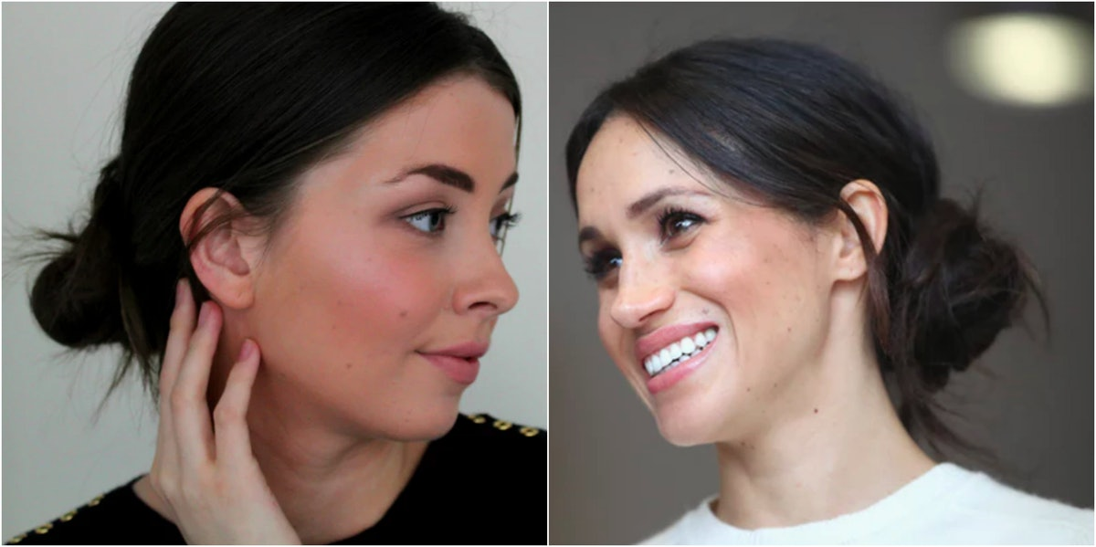 I Tried Meghan Markle's Beauty Routine For A Week & Yes, It Included A Messy Bun