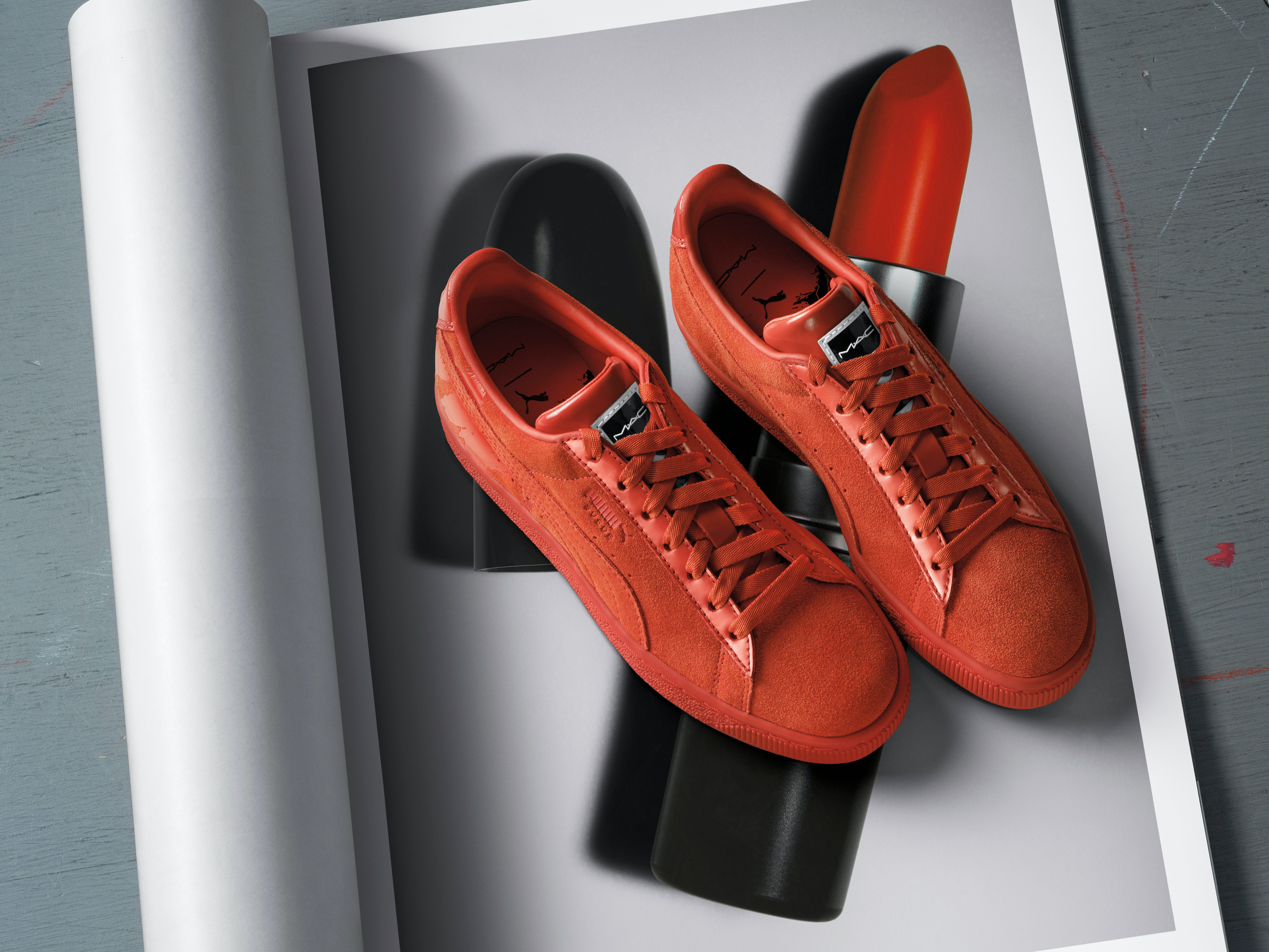 MAC x Puma Sneaker Collection forecasting
