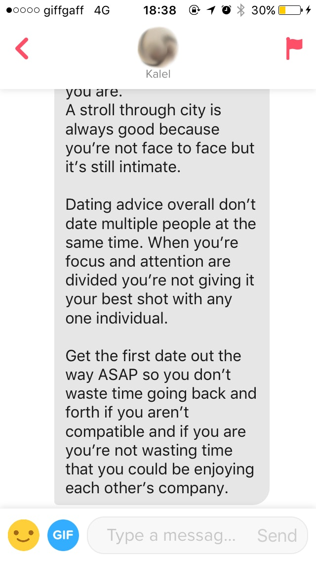 Dating is a complete waste of time