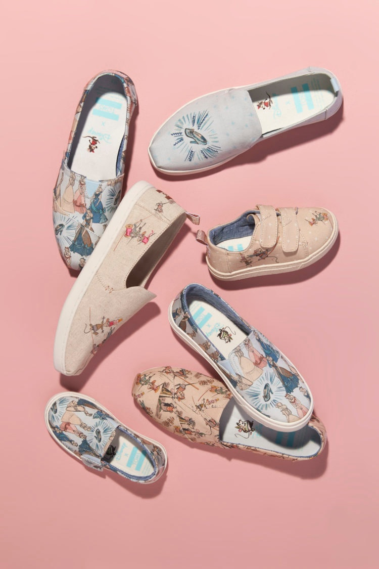 0b720d58d8f What Is In The TOMS x Disney Shoe Collection  It Has All The OG Princesses    A Whole Lot Of Comfort
