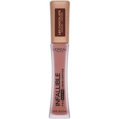 L'Oreal Infallible Pro Matte Les Chocolats Scented Liquid Lipstick