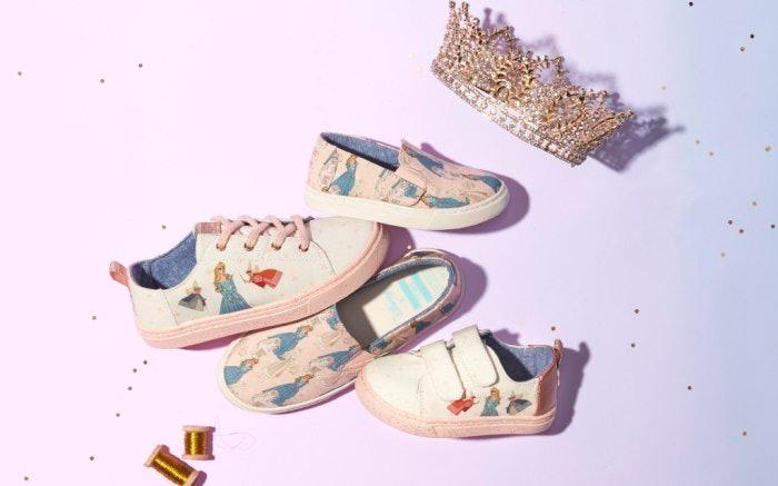 TOMS X Disney Princess Shoes