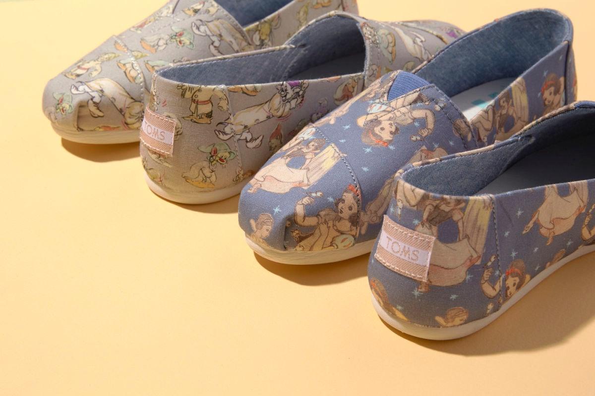 TOMS x Disney Princess Collection