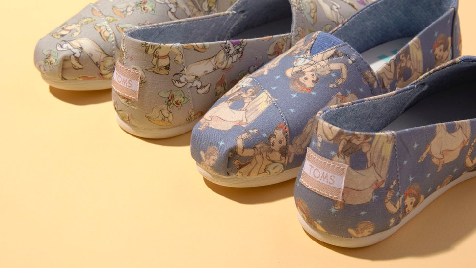 a4cb5346a3e When Does The TOMS x Disney Princess Collection Come Out  These Shoes Were  Made For Fairytale Dreaming